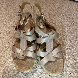 BOC Women's Wedge Sandals Model 22346 CIA13